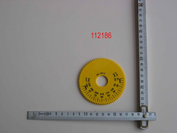 YELLOW DISK FOR SPEED VARIATOR 10/2