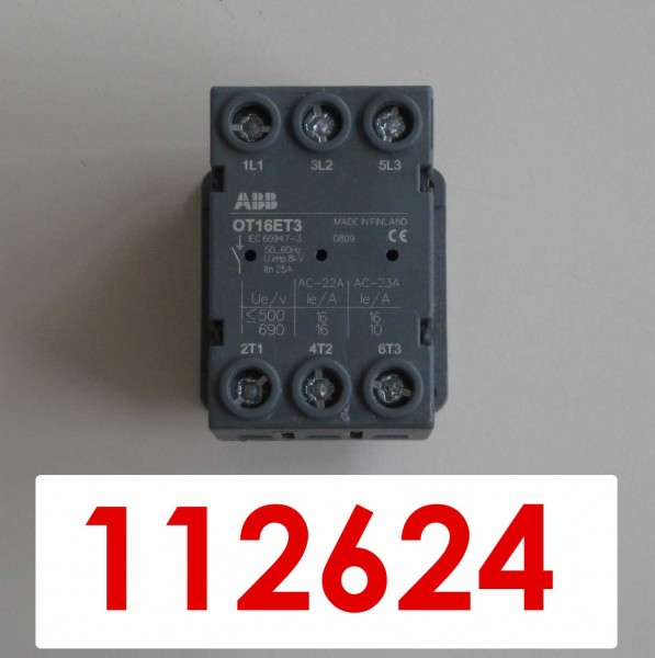 DISCONNECTOR SWITCH 16A *